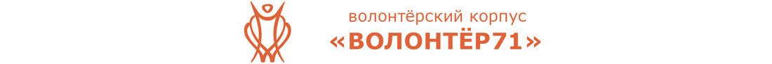 "Волонтёрский корпус ""Волонтёр 71"""