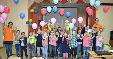 12 октября группа волонтеров посетила школу-интернат для детей с нарушениями слуха